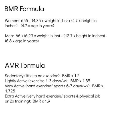 bmr + amr